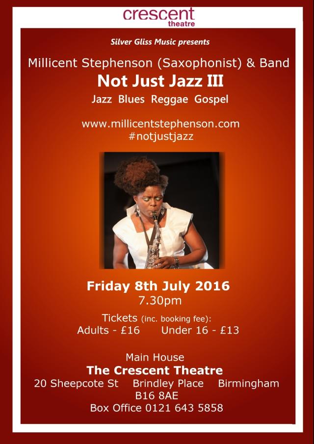 Not Just Jazz III Millicent Stephenson