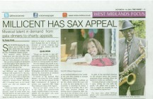 'Millicent has Sax appeal' - The Voice Oct 2012
