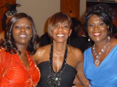 Millicent, Beverley Critchlow and Tessa Sanderson (CBE & Olympic Gold Medalist)