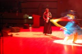Sandra Golding's pirouette at Jamaican Olympic Team celebration. Taken by Michael Stephenson Jan 2013