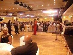 Performing for guests at the Charity Ball for Noel Holmes Memorial Hospital and West Haven Children's Home, La Royal Banqueting Suite, London July 2013