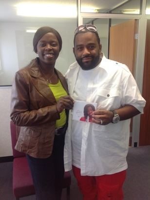 Millicent with Fred Jerkins III (Grammy Award & Dove Award Winning Producer/Songwriter)