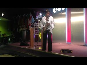 Millicent at the Dominion Conference, Triumphant Church International Aug 2013