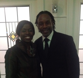 Millicent and Wil Johnson (Actor: 'Emmerdale' and 'Waking the Dead')