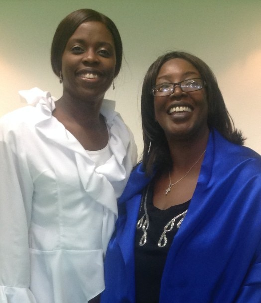 Millicent and Jean Taylor (CEO, Sandwell Volunteer Centre)