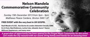 Mandela Commemorative Event