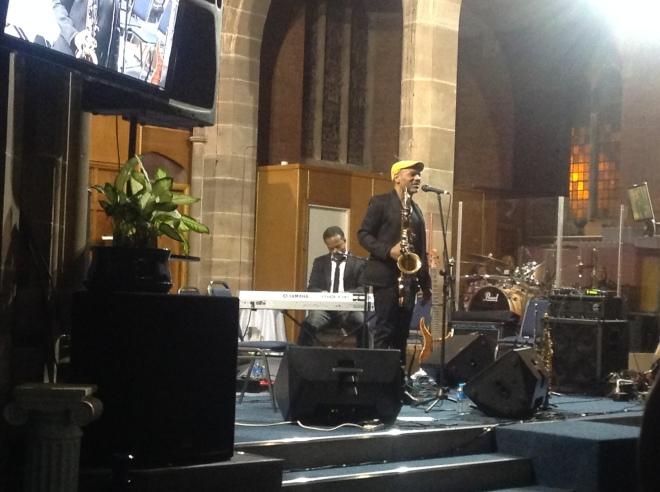 Kirk & John Performing
