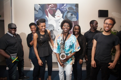 'Not Just Jazz' - Millicent & Band, break out!