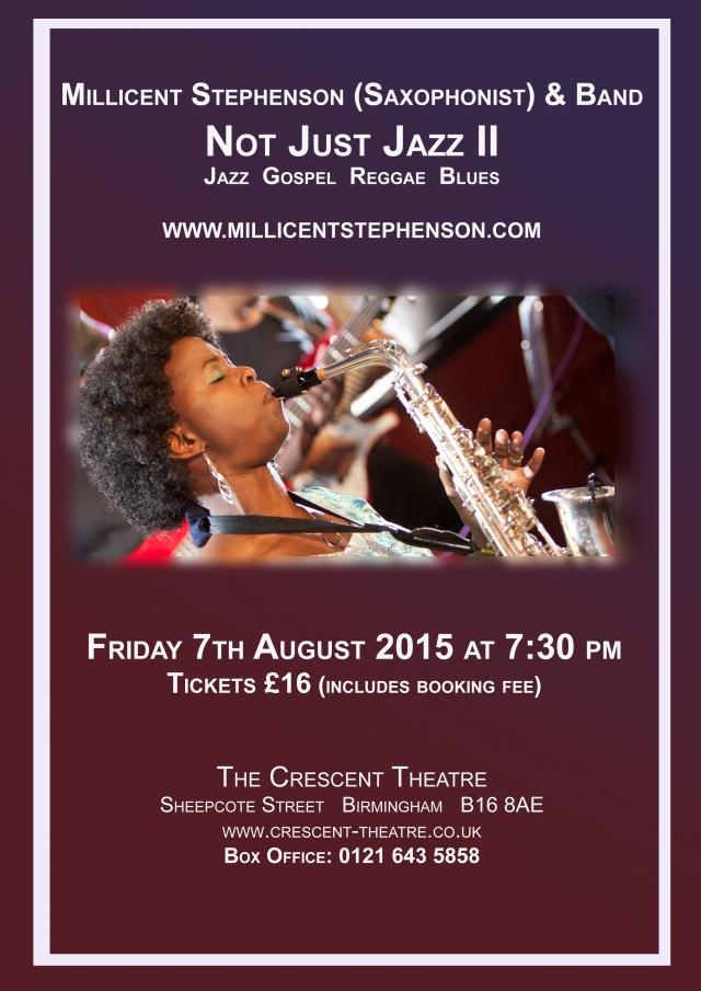 Millicent Not Just Jazz II Poster