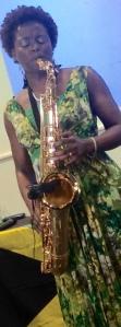 Millicent Stephenson Saxophonist UK
