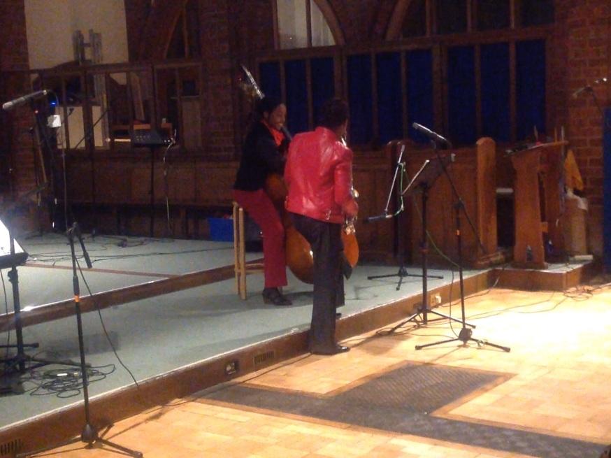Bass & Sax: Millicent & Althea debut
