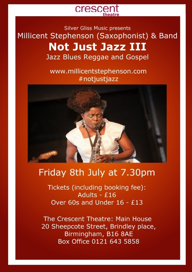 Not Just Jazz III Crescent Theatre www.millicentstephenson.com