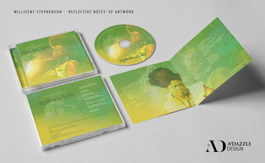 Millicent Stephenson Reflective Notes CD packaging